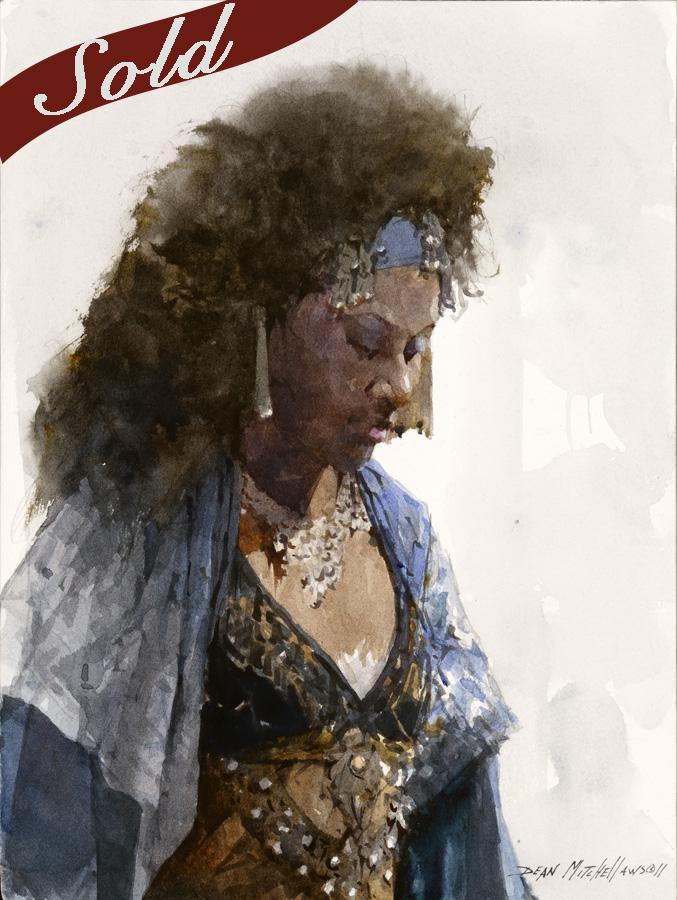 Gypsy Blue by Dean Mitchell